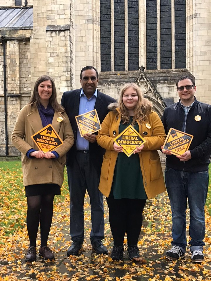 Katharine Macy and Shaffaq Mohammed fighting for Selby and Ainsty